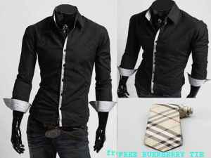 Bp308 insight burberry - 58rb, sz L50,P70 katun rayon + dasi burberry