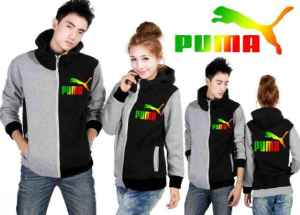 Cp994 couple jaket puma combi - 90rb, sz cew L50,P62 cow L55,P68 babyterry