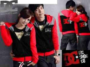 Cp995 couple jaket dc combi - 90rb, sz cew L50,P62 cow L55,P68 babyterry