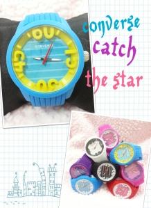converse catch the star - grosir@50rb, eceran@65rb, free box, tali rubber karet, diameter 4cm