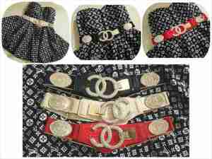gp007 gesper karet chanel new @100rb import