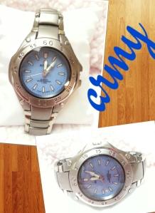 jam tangan army rantai @40rb, tali rantai, diamter 4cm