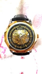 Omega otomatic man watch - 200rb kw super free box dan batre cadangan