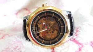 Omega otomatic man watch - 200rb kw super free box dan batre cadangan(1)