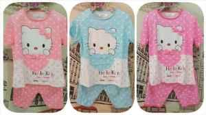ip8874 baju tidur kitty - 30rb sz baju L35 P46 celana L20-35 P35 spandek korea