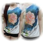 ip8940 Rose tee - 40rb, sz L45 P72 spandek bkk