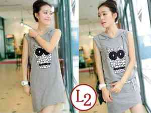 Ip9440 Dress Bird Hoodie Misty - 56rb, sz L46, P88 Babyterry Free Belt