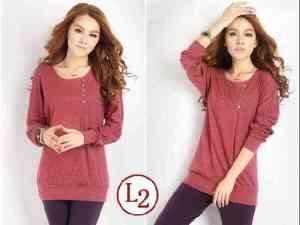 Ip9577 T-shirt Zelia Dk Pink - 43rb, sz L48 P72 spandek
