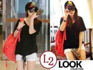 Ip9588 T-shirt Berry Black - 40rb sz L58 P68 Spandek