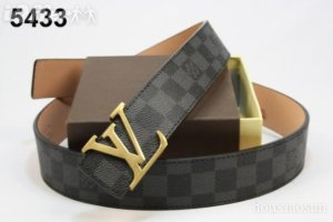Lv belt kw super - 150rb free box, tali semi kulit leather
