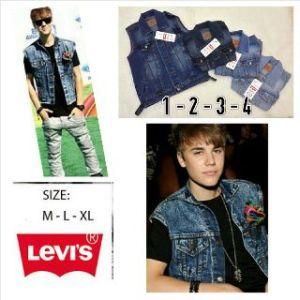 Rompi levis jeans @ 120rb, size M L dan XL, bahan jeans import