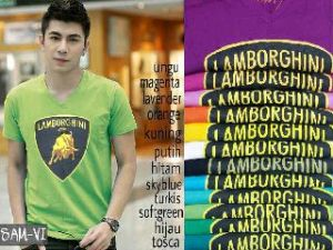 Bp424 logo lambor @40rb fit L spandex cotton super - Copy