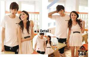 Cp1079 couple loevie - 72rb, bahan spandek, fit to L