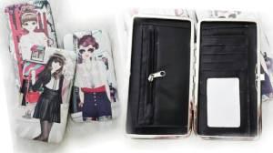 Dompet kotak girly - 80rb, 2 slot uang, 4 slot kartu, 1 slot koin