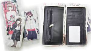 Dompet semi clutch pretty girl - 60rb 2slot uang, 4slot kartu, 1 kaca, sleting