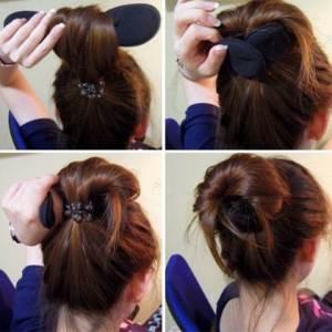Hairdini @12rb alat untuk sanggul rambut, bisa digunakan utk pengikal rambut,  bahan spong jadi tidak merusak rambut dan gampang digunakan(3)
