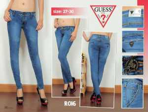 Ip10017 guess chinoo biowash - 95rb size 27-30 material softjeans