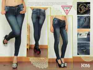 Ip10046 Guess Chinoo Blue Black - 95rb size 27-30 material softjeans good quality