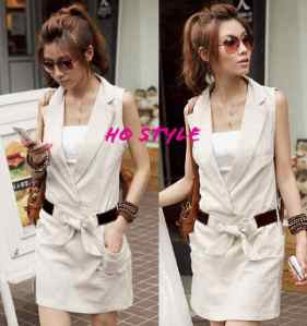Ip1013 dress stella cream - 60rb fit L,bahan katun stretch tanpa inner
