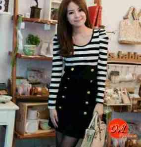 Ip10133 dress miami - 52rb fit L kecil, spandek