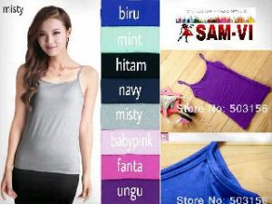 Ip1031 satu tali - 32rb fit L bahan spandex cotton super
