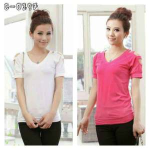 Ip1104 natalia top - 38rb fit L bahan spandek