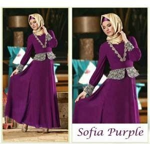 ip1202 Sofia Purple + phasmina @105rb, bahan spandek balon, fit to L