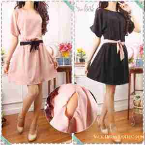 ip1216 dress corin @58rb, bahan twiscone, fit L