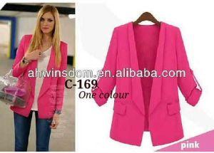 ip1219 blazer pink elegant @50rb, bahan twiscone,lengan panjang LD98cm, Pjg60cm Fit L