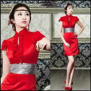 Ip1232 imlek simple red dress - 72rb sz L40-52 P98 bahan katun rayon silky, kancing depan dan sleting belakang