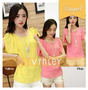 Ip1317 raquel blouse - 50rb sz L96 P68 bahan twiscone