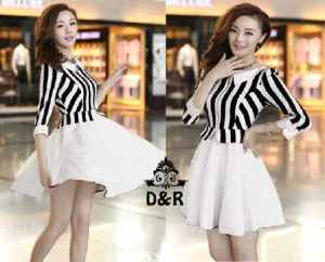 Ip1326 dress jenice - 50rb, sz fit to L, spandek