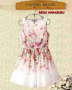 Ip271 dress harajuku - 45rb sz L30-45 L92 spandek