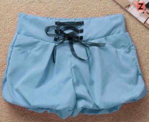 Ip288 bubble pants - 40rb fit L, bahan denim chamre + furing