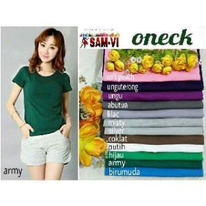 Ip304 oneck zara basic tee - 32rb, fit L spandek cotton super