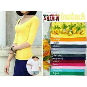 Ip305 lowback basic tee - 36rb, fit L spandek cotton super