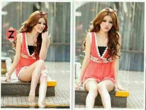 Ip381 wenia blouse - 44rb fit L bahan katun rayon
