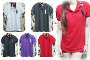 Ip464 polo shirt kuda xl - 38rb sz L48 P68 bahan lacost