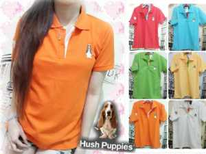 Ip510 polo hush puppies - 35rb sz L45 P65 bahan lacost