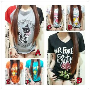 Ip518 mixmax kaos  - 22rb, fit L bahan katun combed