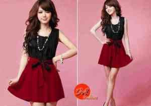Ip528 dress novi - 45rb sz L46 P90 spandek
