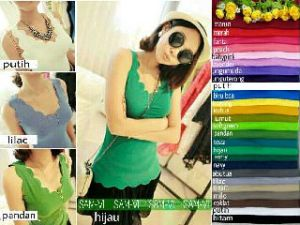 Ip616 Scalop @35rb fit L spandex cotton super
