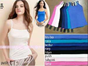 Ip768 Satu tali @32rb fit L spandex cotton super Zara