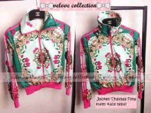 Ip831 jacket thavasa flow - 54rb sz L50 P62 bahan kaos tebel