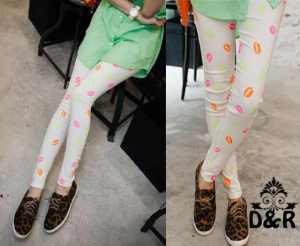 Ip846 leging lips - 39rb fit L bahan spandek