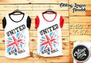 Ip915 United rock and roll - 35rb sz L50 P68 bahan katun combed