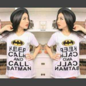 Ip9853 keep calm batman - 30rb sz L48 P68 bahan katun combed