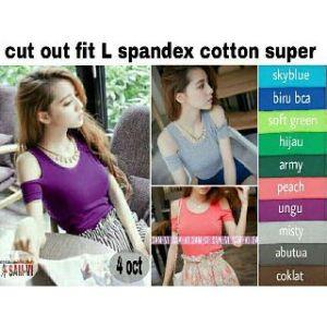 Ip9869 cut out @ 37rb fit L spandex cotton super