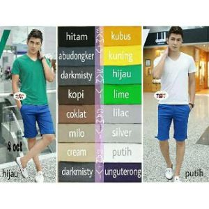 Ip9870 vman zara basic tee @ 37rb fit M cow spandek cotton super