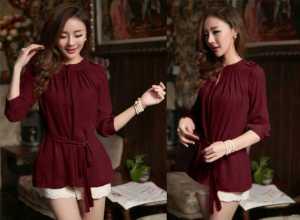 Ip9933 blouse erline - 50rb sz L50 P70 bahan katun rayon